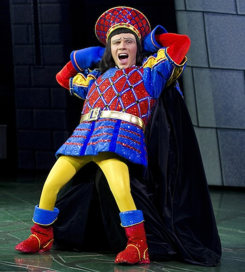 Shrek The Musical: Diminutive Lord Farquaad, played by Neil McDermott of EastEnders fame, is a mini megalomaniac who steals the show.
