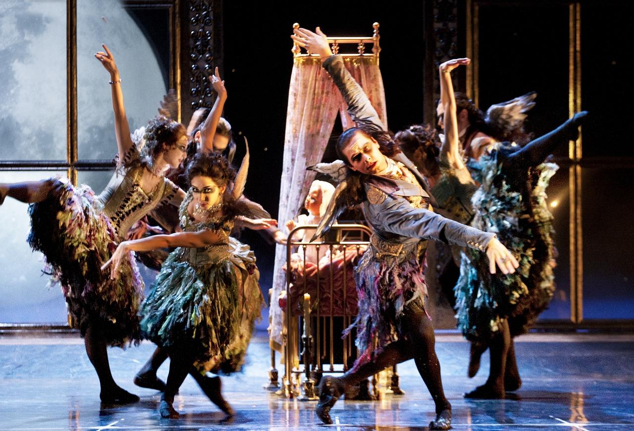 'Sleeping Beauty' still from www.new-adventures.net