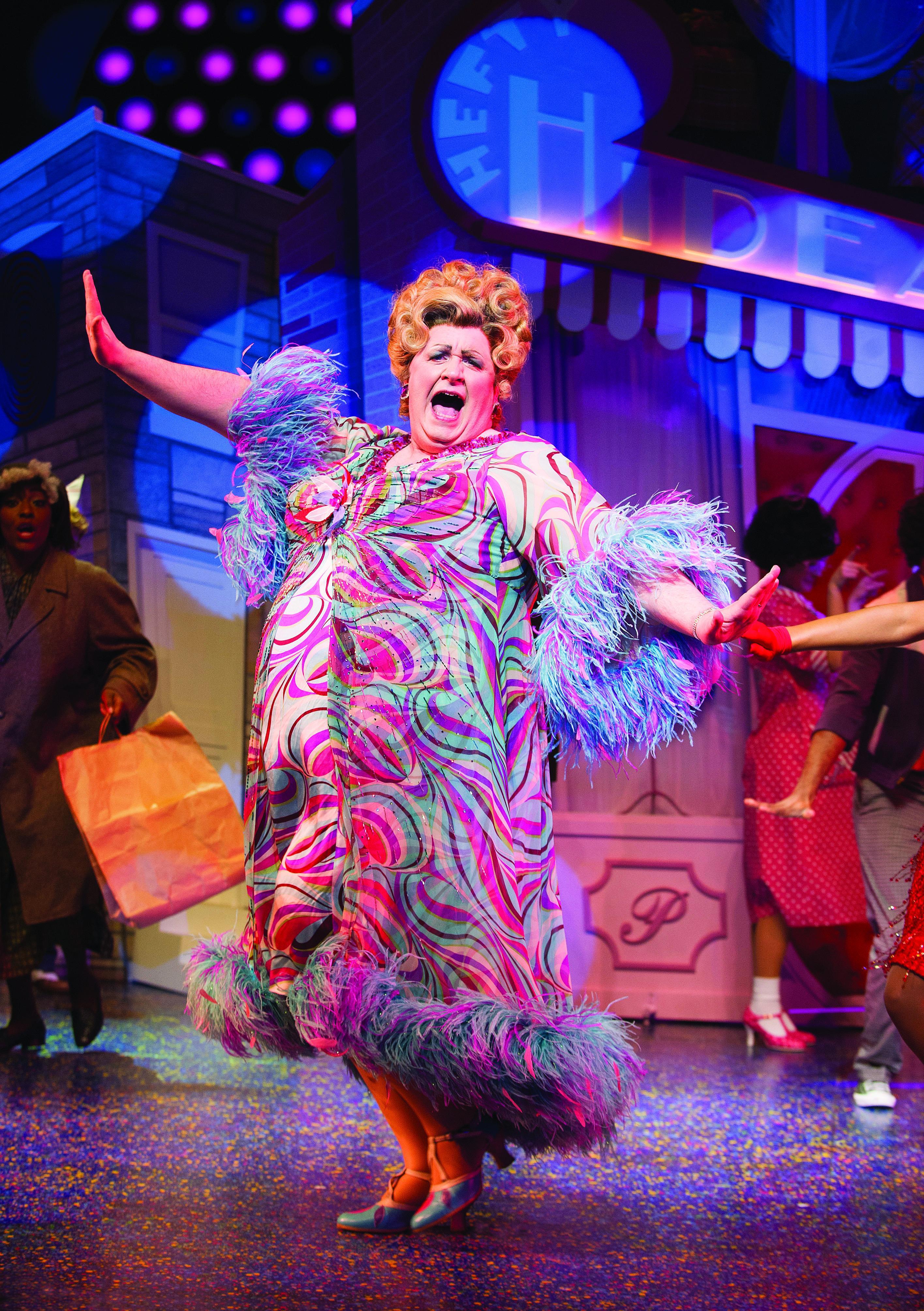 Hairspray the musical. Mark Benton as Edna Turnblad.