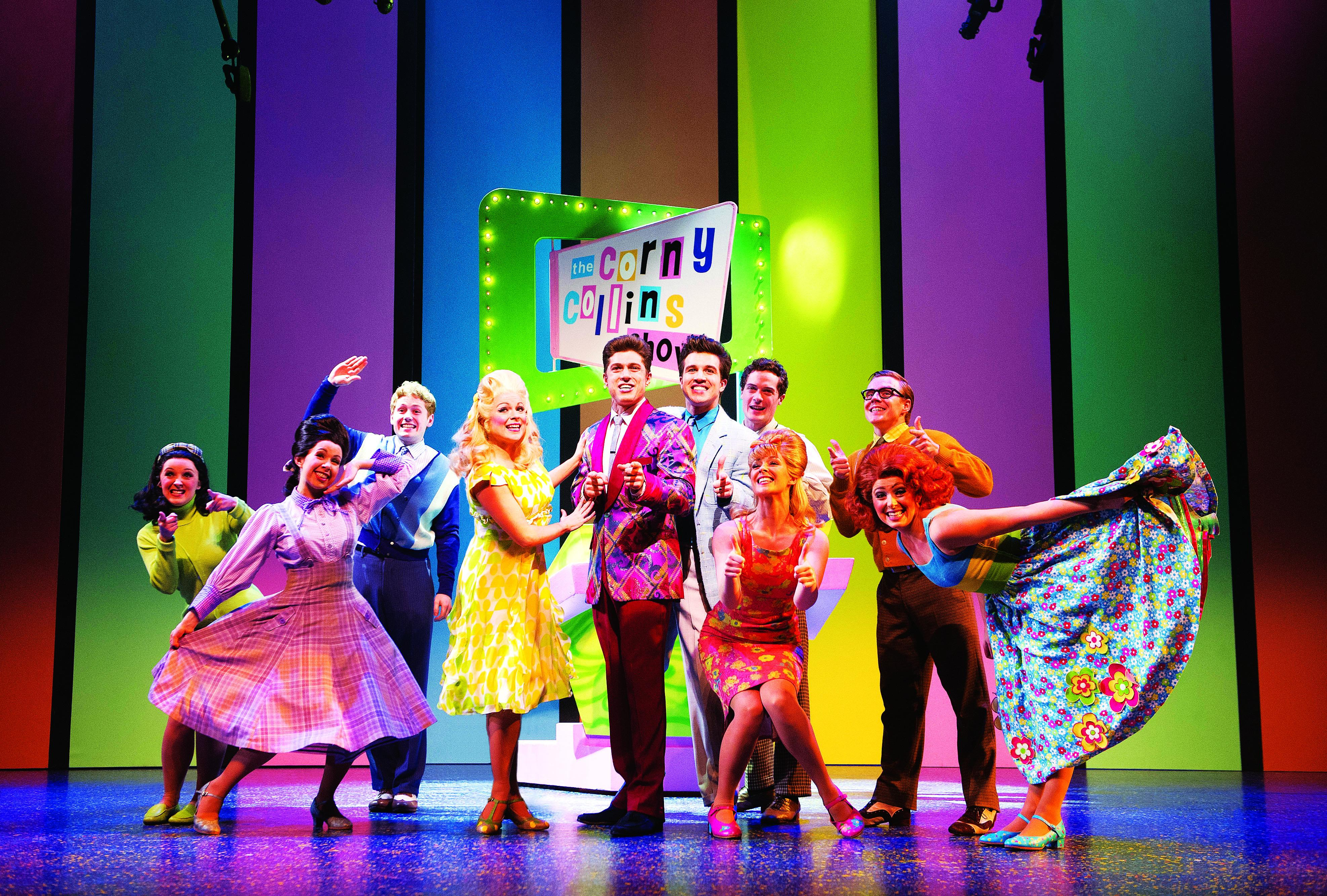 Hairspray the musical. 'The Corny Collins Show'.