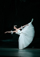 Sofia National Ballet dancer in Giselle.