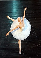 Sofia National Ballet dancer in Swan Lake.