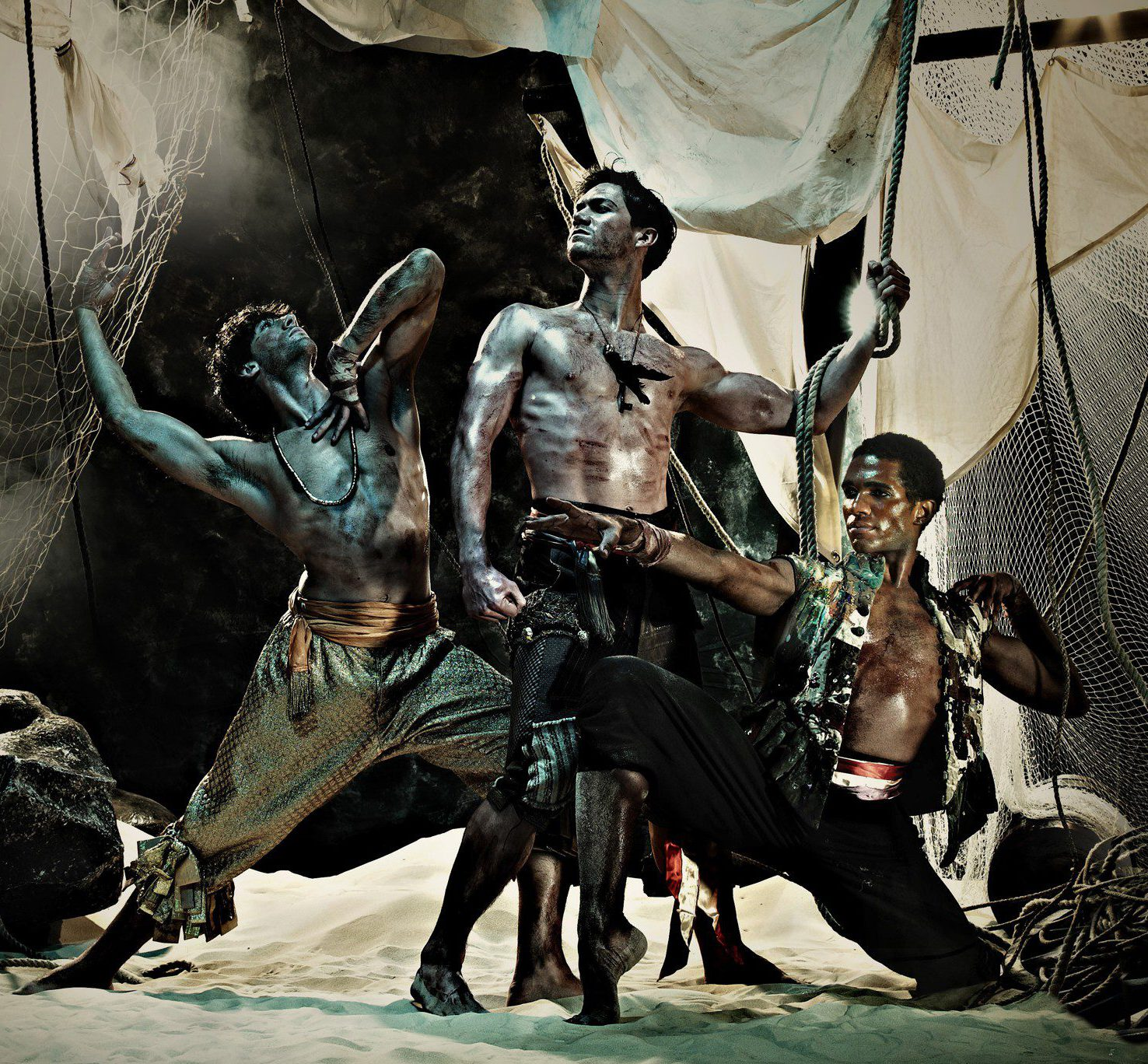ENB's 'Le Corsaire': Esteban Berlanga, Max Westwell and Junor Souza photographed by Guy Farrow