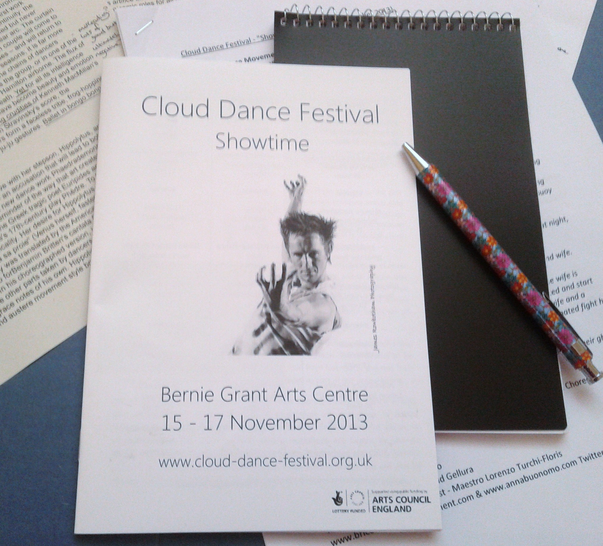 Cloud Dance Festival papers