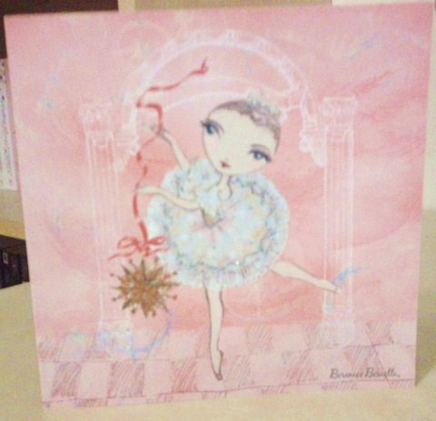My Ballet Papier Christmas card from Berenice Bercelli