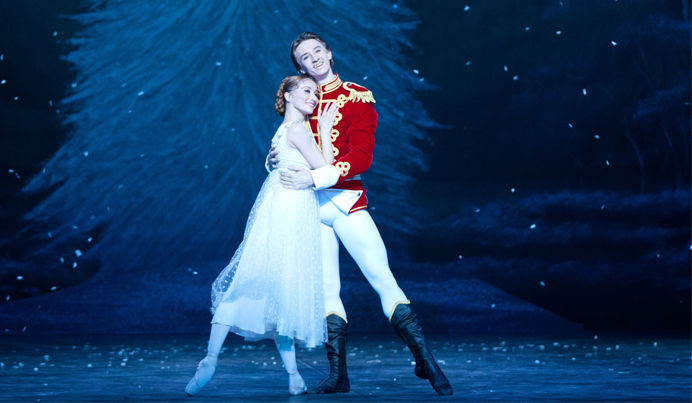 English National Ballet. Nutcracker at the Coliseum. (Photo by Caroline Holden).