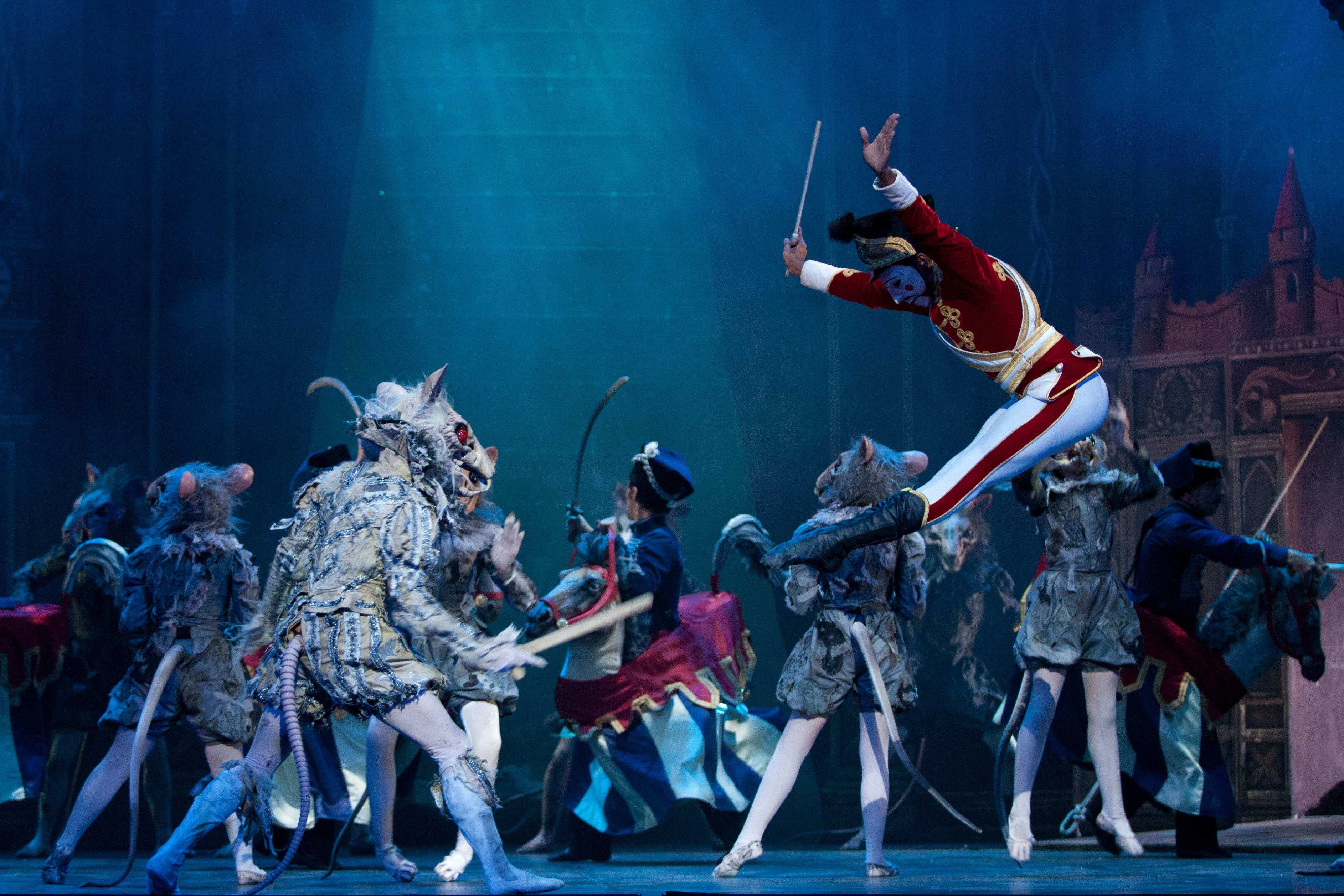 English National Ballet. Nutcracker at the London Coliseum. (Photography by ASH).