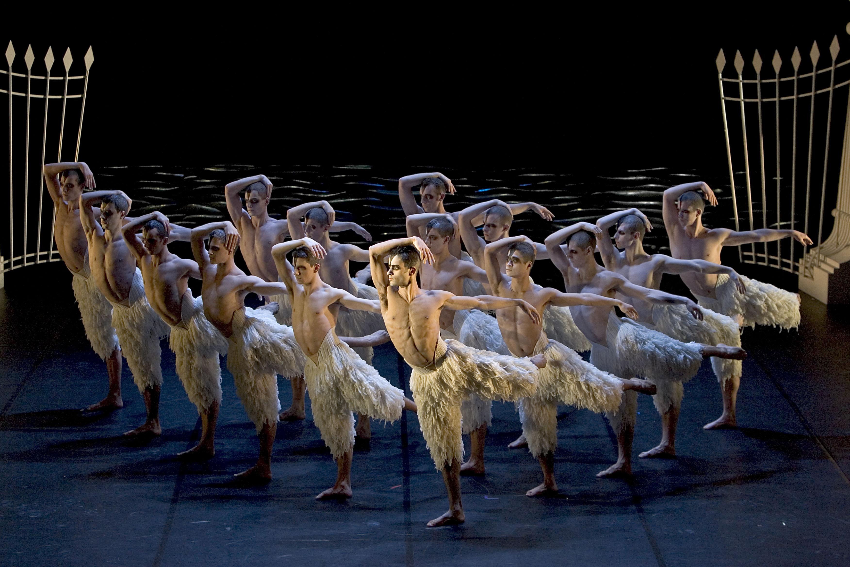 The Company in Matthew Bourne's 'Swan Lake'