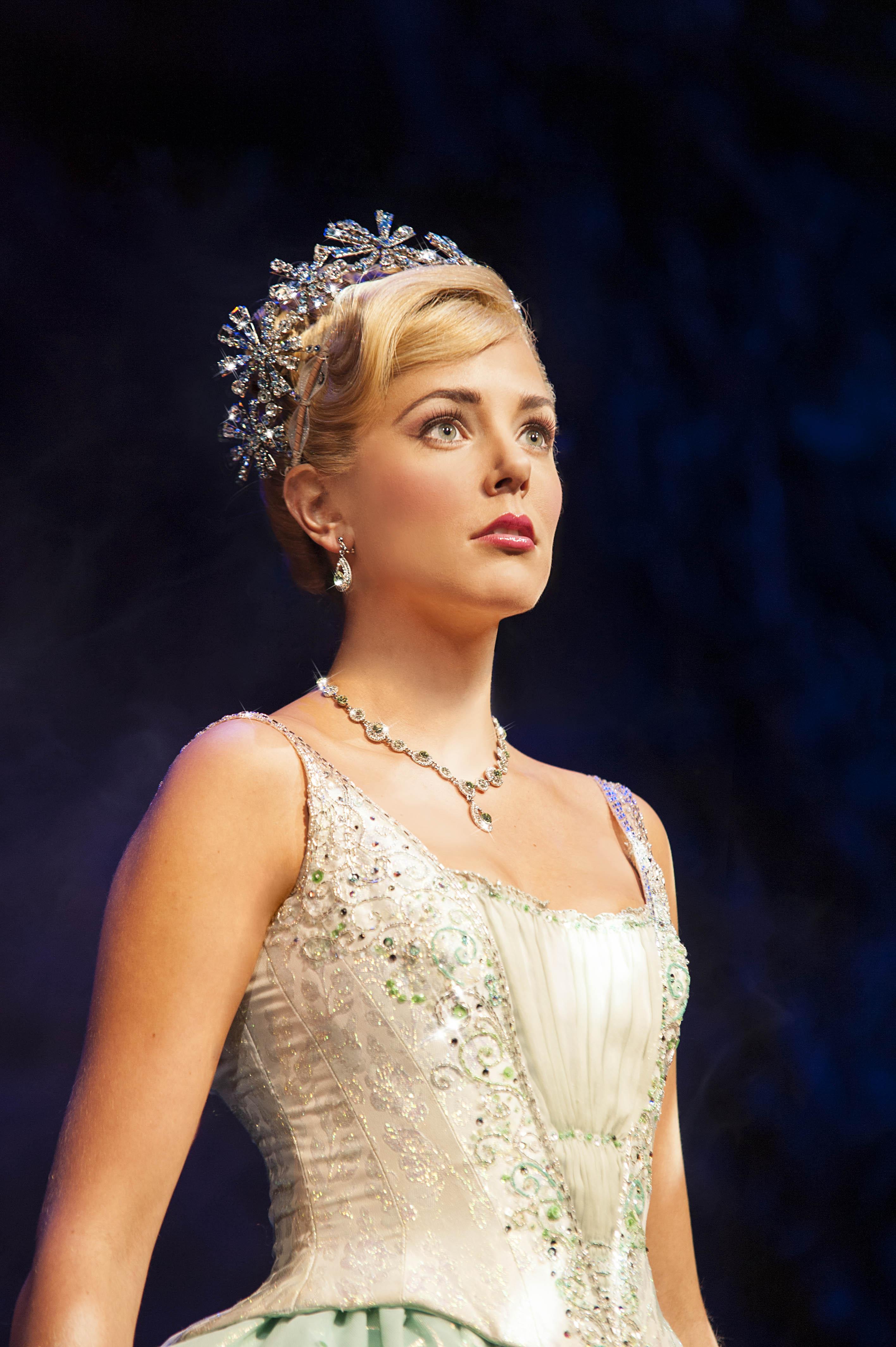 Wicked UK & Ireland Tour. Emily Tierney as Glinda.