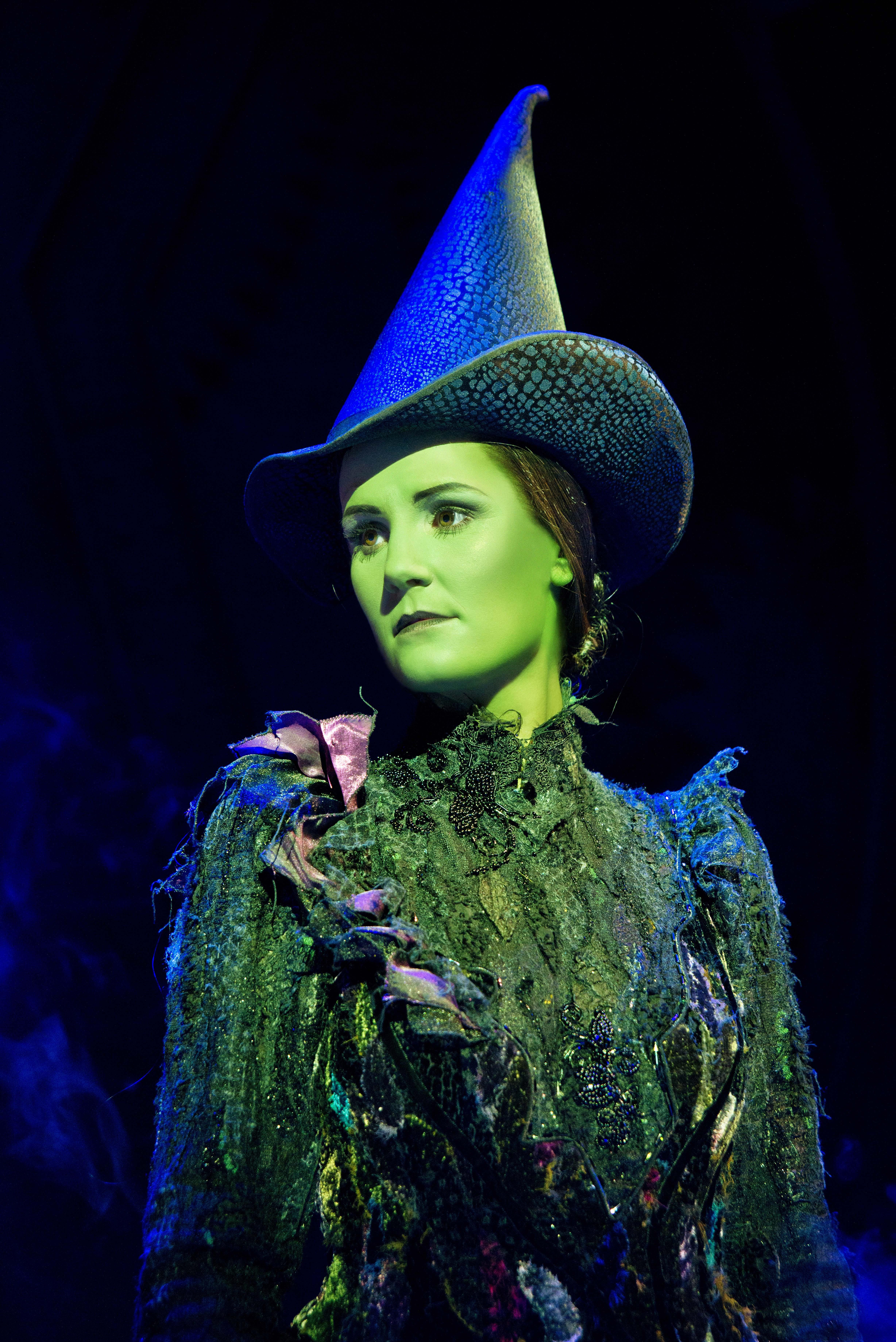 Wicked UK & Ireland Tour. Nikki Davis-Jones as Elphaba.