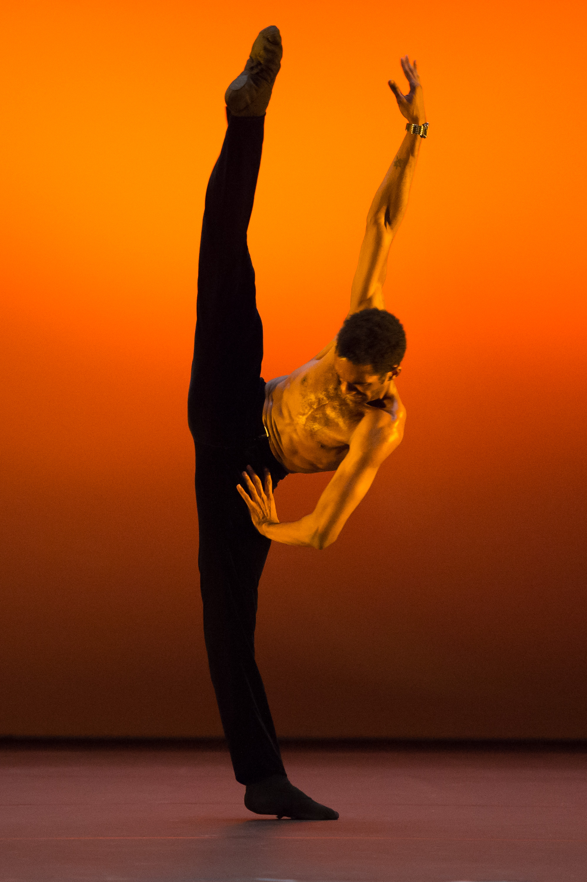 Junor Souza performing in the 2014 English National Ballet Emerging Dancer competiton