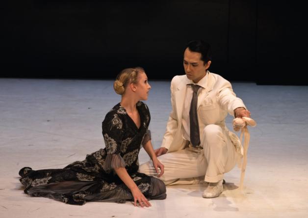 Northern Ballet dancers Antoinette Brooks-Daw and Hironao Takahashi in David Nixon's 'A Midsummer Night's Dream'.