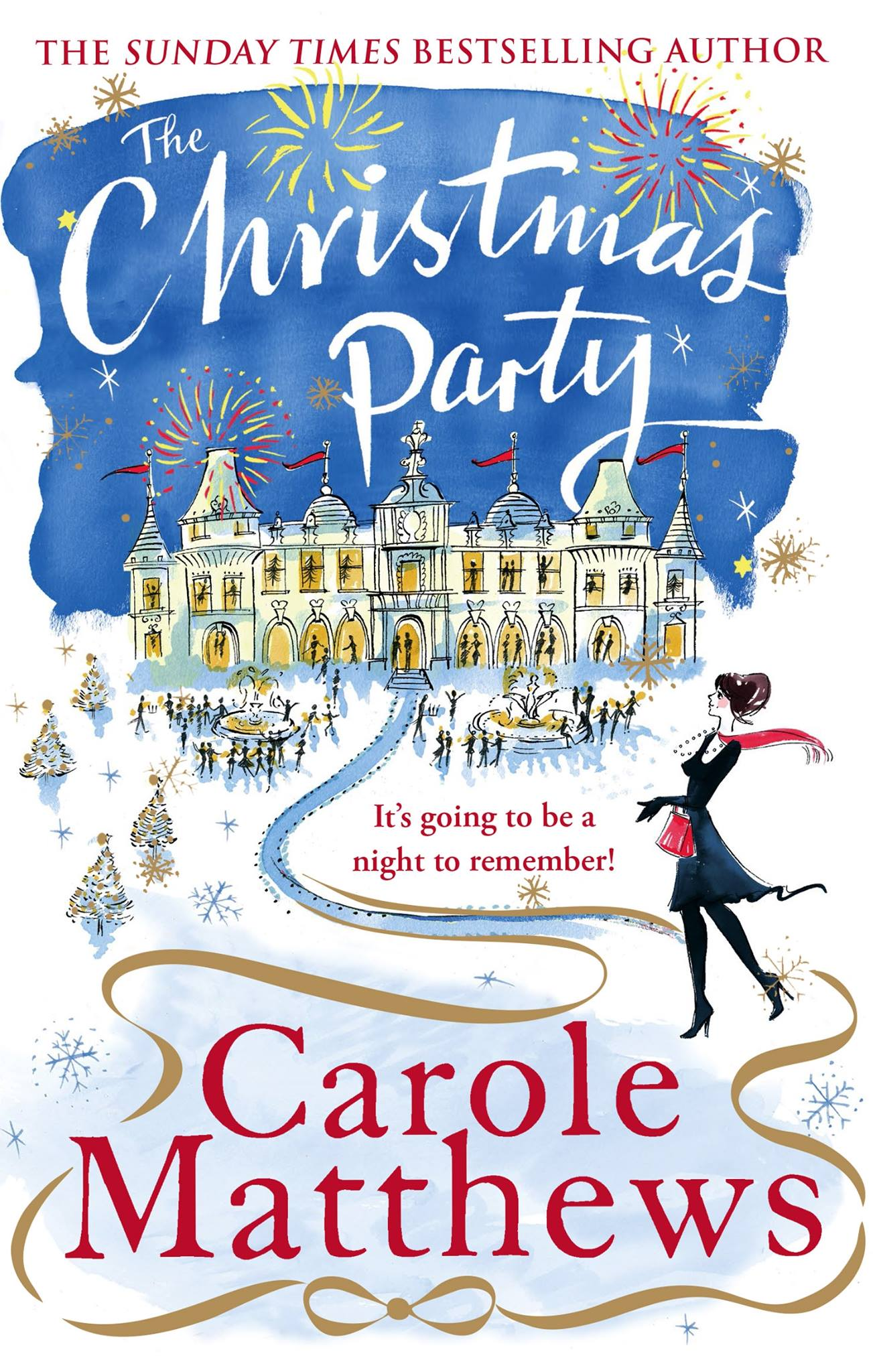 The Christmas Party, a festive book by Carole Matthews.