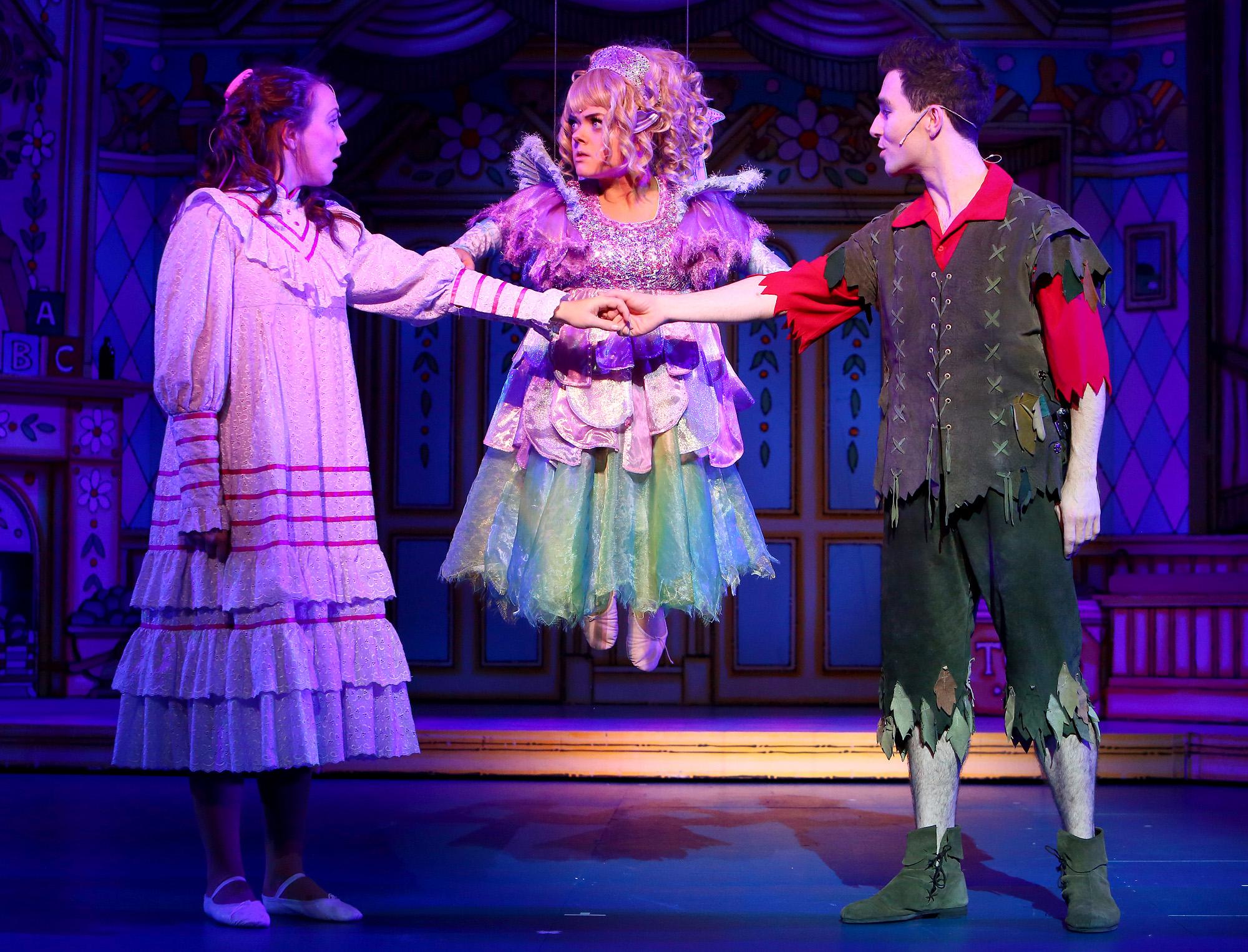 Peter Pan at Milton Keynes Theatre, Christmas 2014.