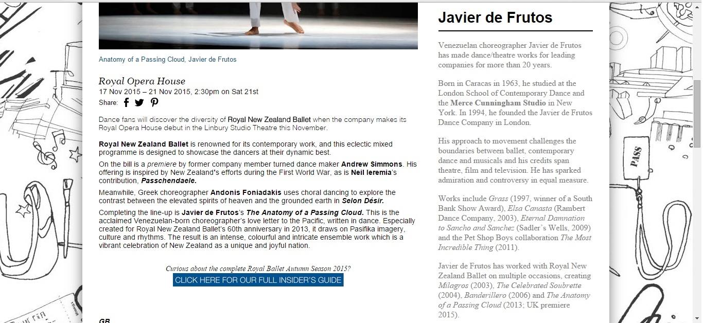 Culture Whisper Royal New Zealand Ballet Mixed Programme 2
