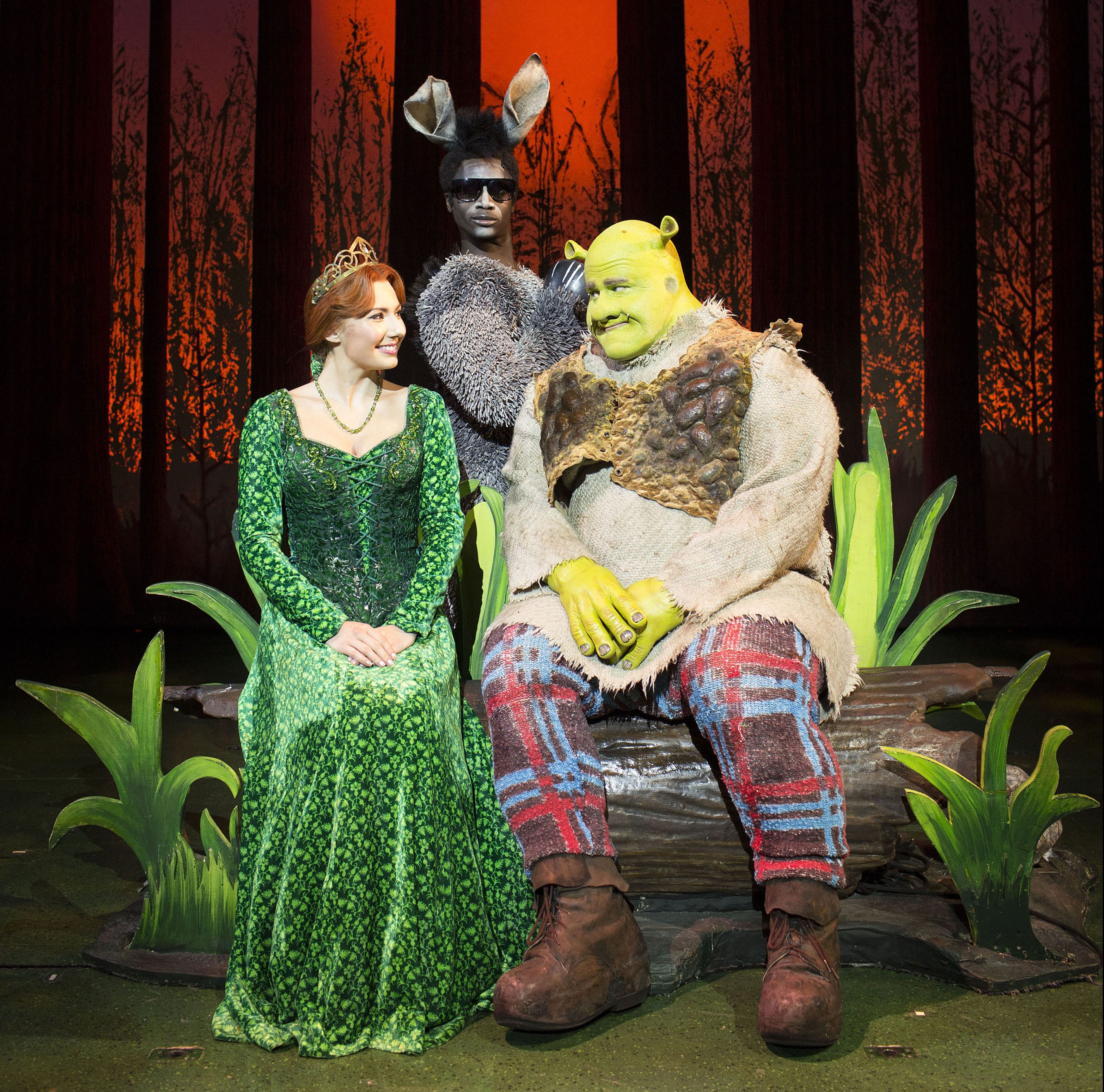 Shrek The Musical. Photo by Helen Maybanks.