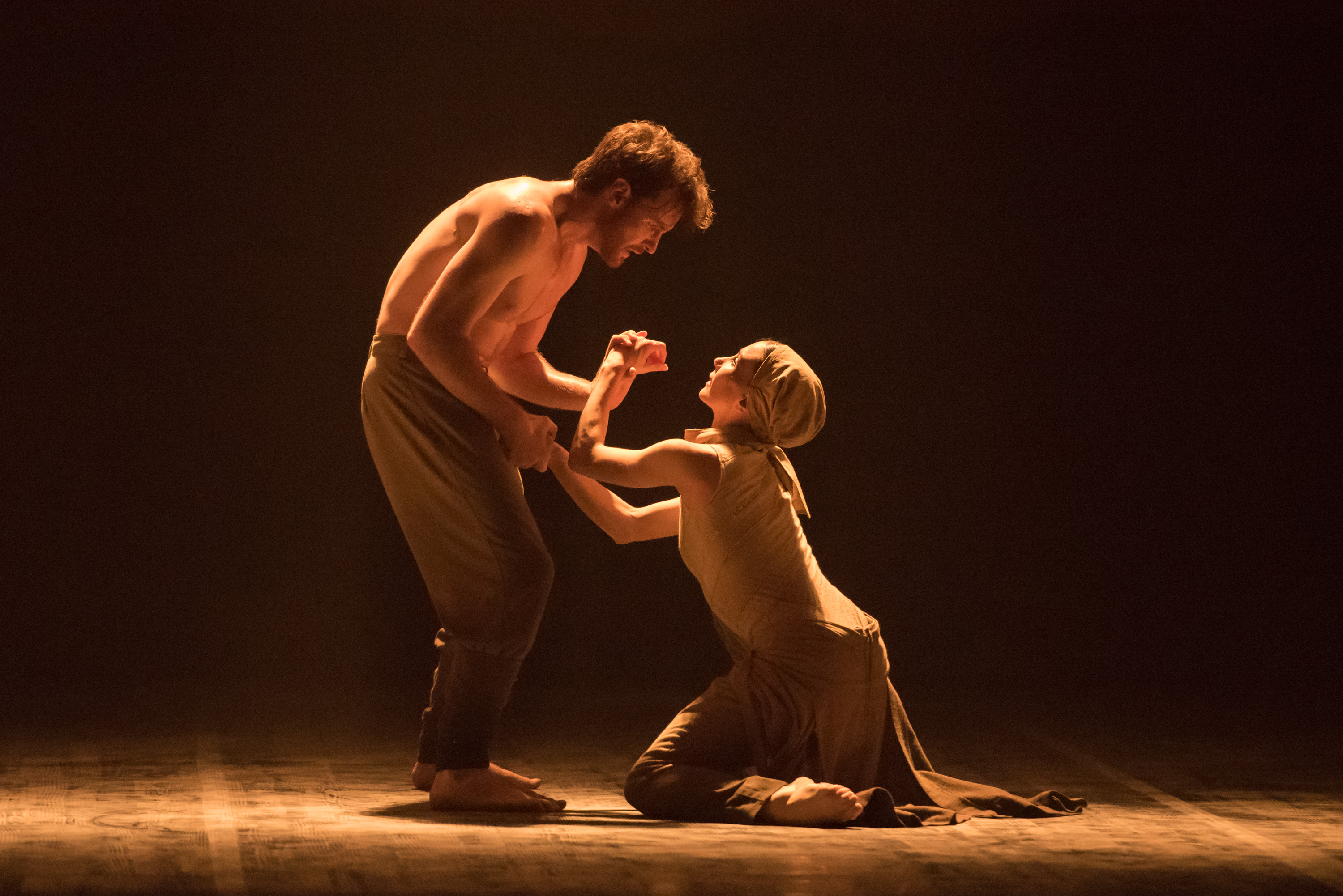 English National Ballet's 'Lest We Forget': 'Dust' with Tamara Rojo and James Streeter (photo by Arnaud Stephenson)