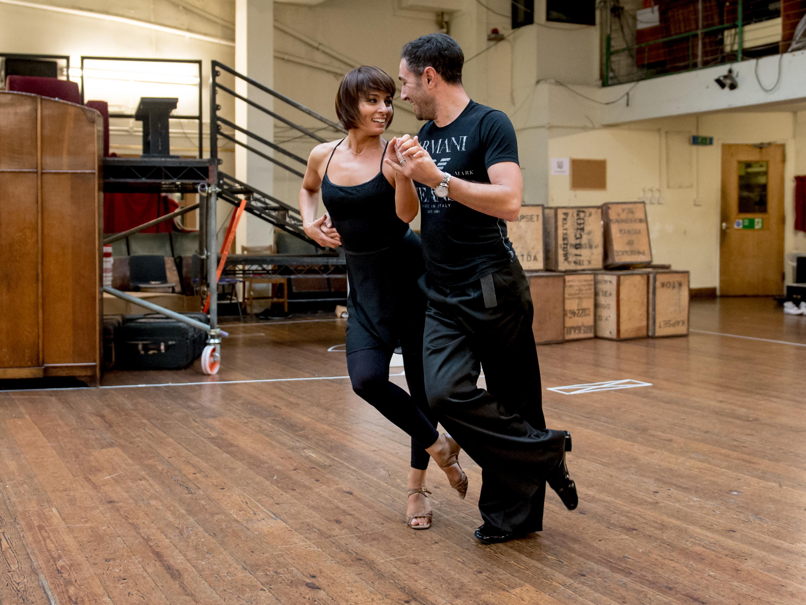 The Last Tango rehearsal 2