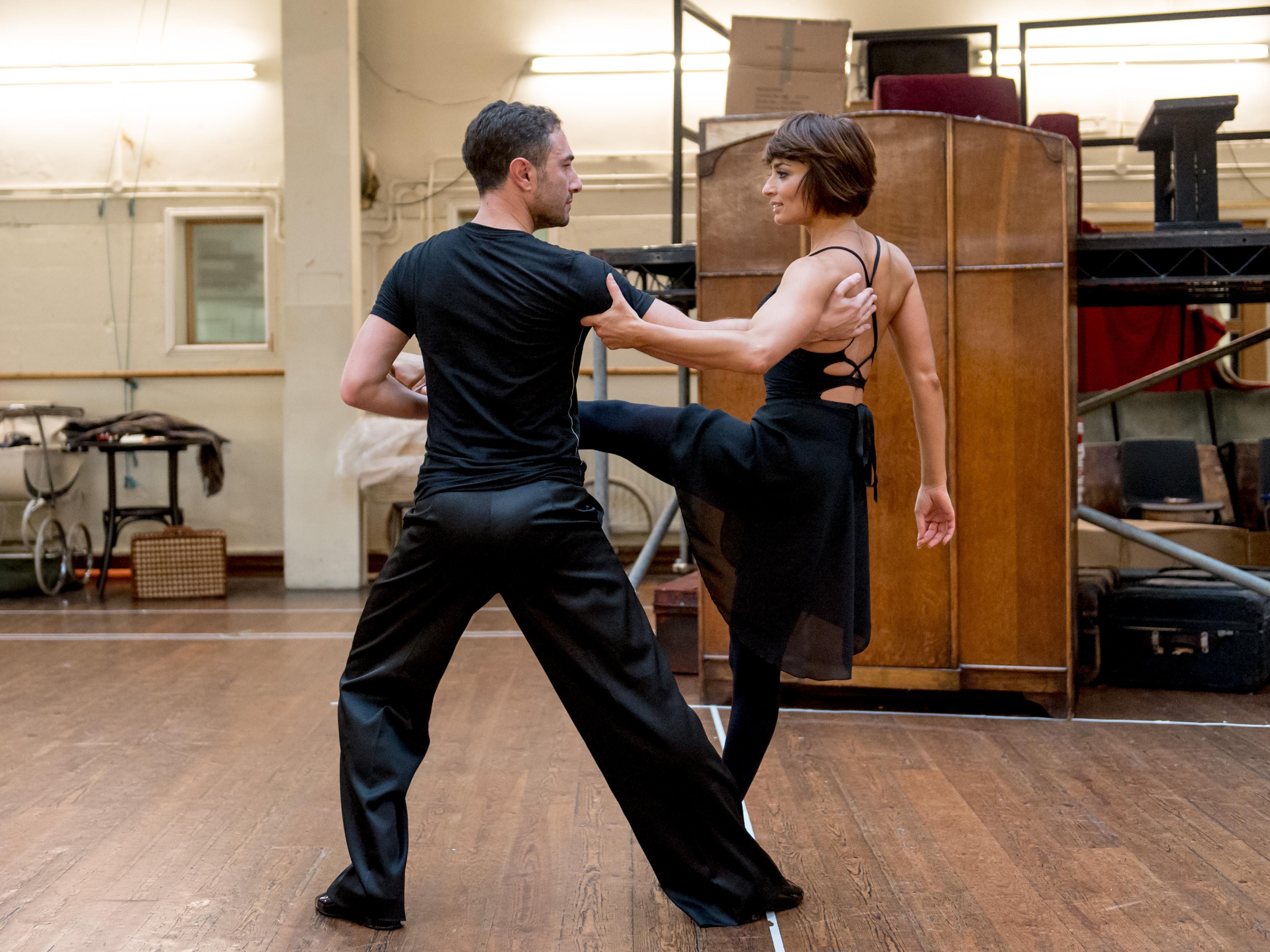 The Last Tango rehearsal 3