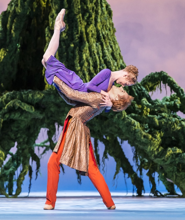 The Winter's Tale. Sarah Lamb as Perdita and Steven McRae as Florizel in The Winter's Tale (ROH, Johan Persson, 2014)