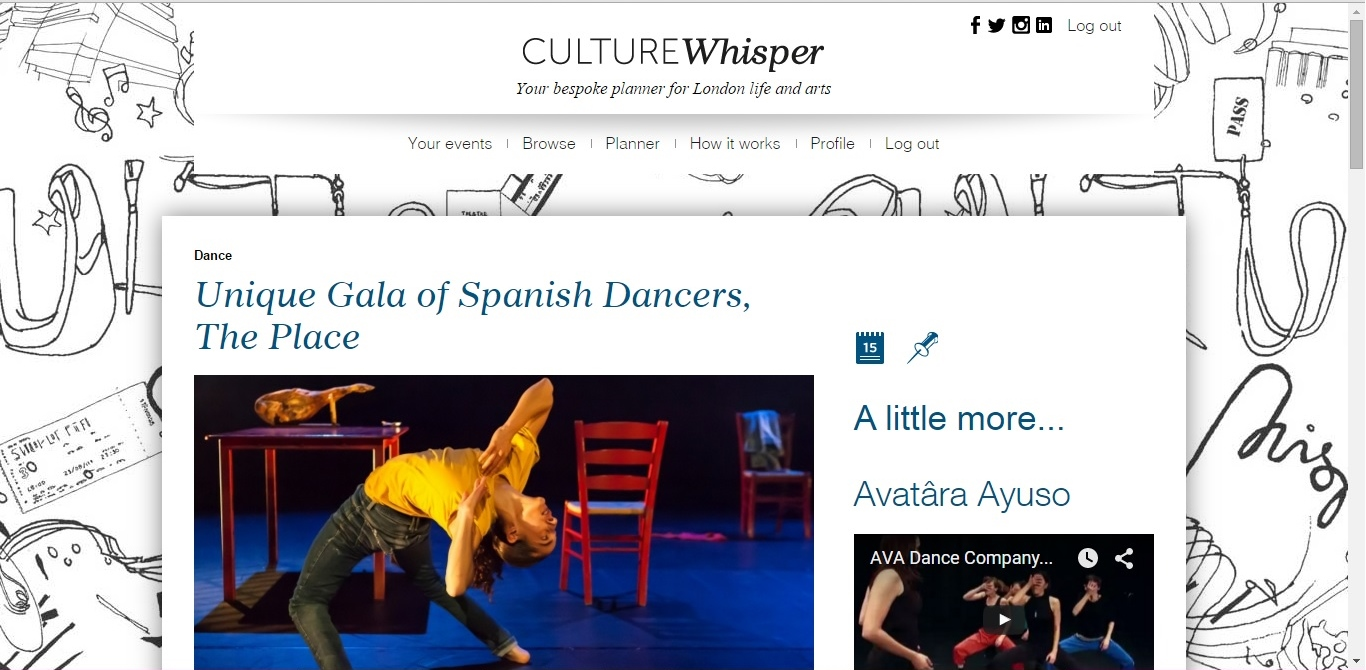 Culture Whisper Unique Gala of Spanish Dance 1