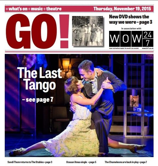 MK Citizen GO! 19th November 2015 Cover - The Last Tango