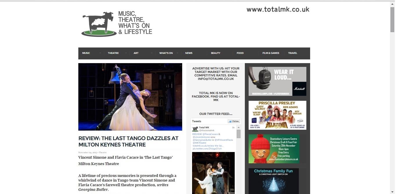 Total MK The Last Tango review