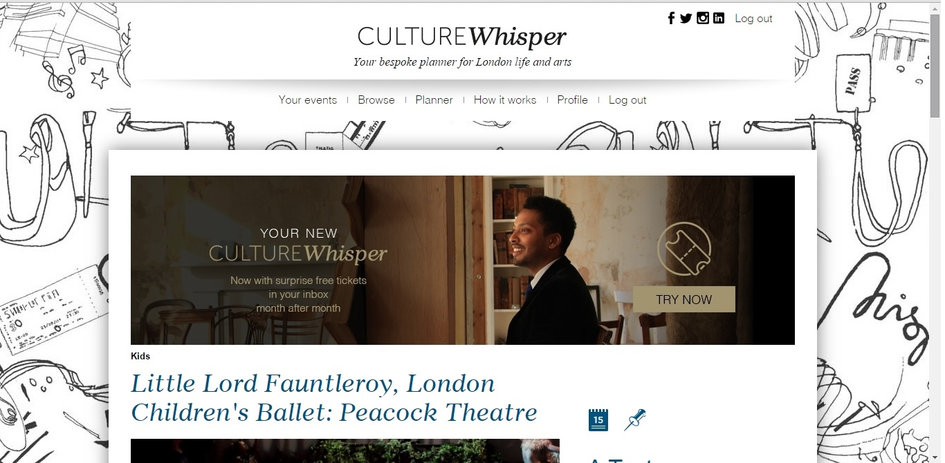 Culture Whisper London Children's Ballet - Little Lord 1
