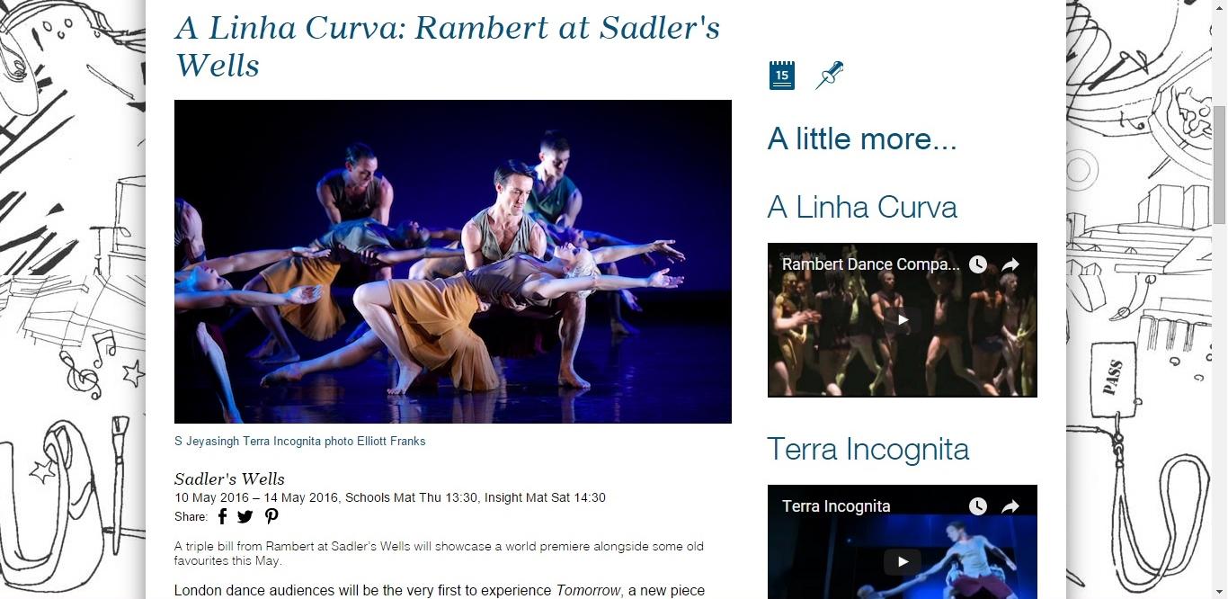 Culture Whisper Rambert - A Linha Curva 2