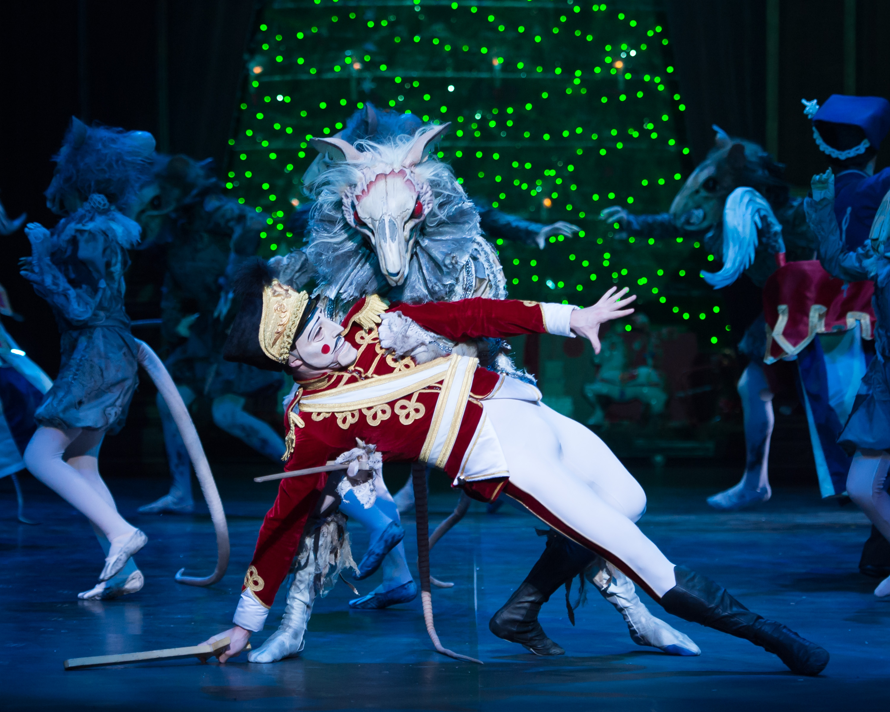 Nutcracker. English National Ballet. Nutcracker and the Mouse King. Photography by Ash.