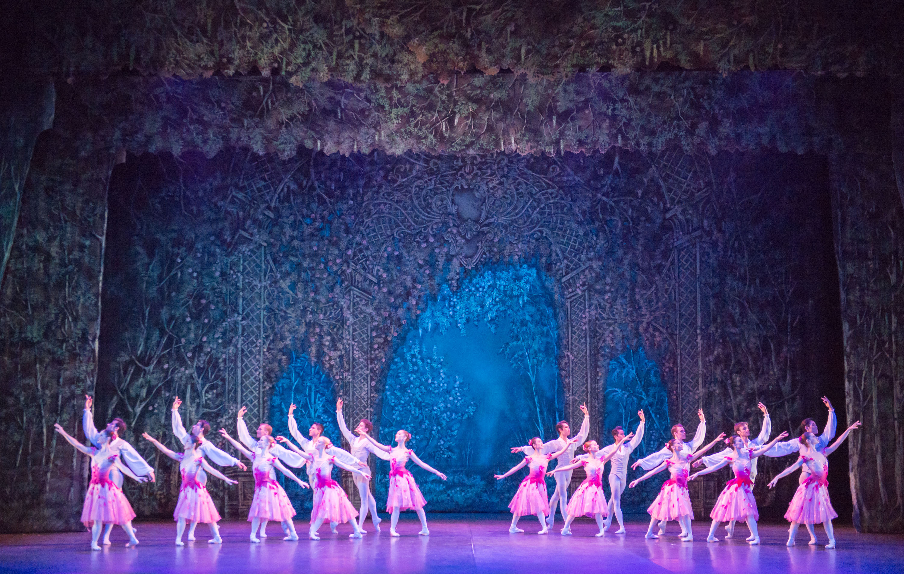 Nutcracker. English National Ballet. Waltz of the Flowers. Photography by Ash.