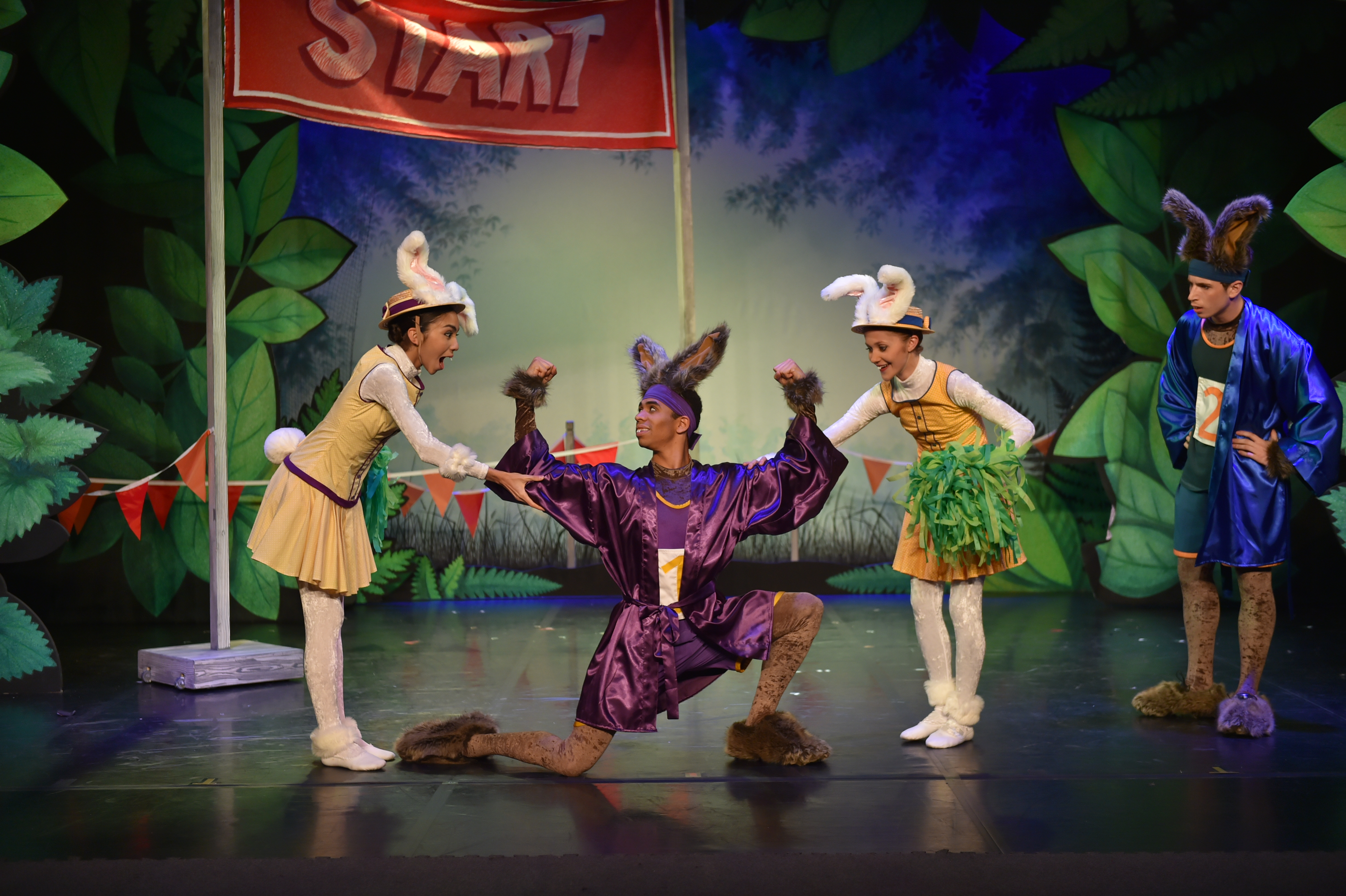 Northern Ballet in bite-sized children's ballet Tortoise & the Hare.