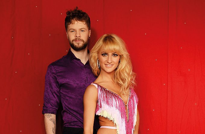 Keep Dancing. Jay McGuiness and Aliona Vilani during the Strictly Come Dancing Live Tour.