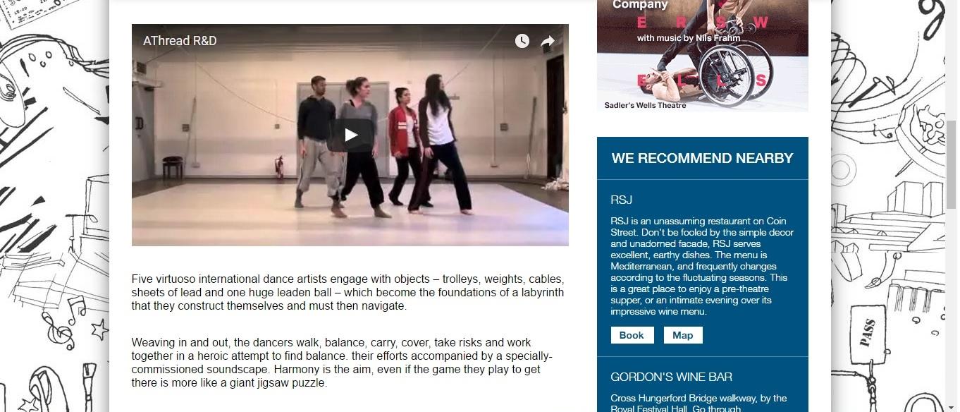 Screenshot of Culture Whisper content by Georgina Butler. Preview of Jean Abreu: A Thread, image 3