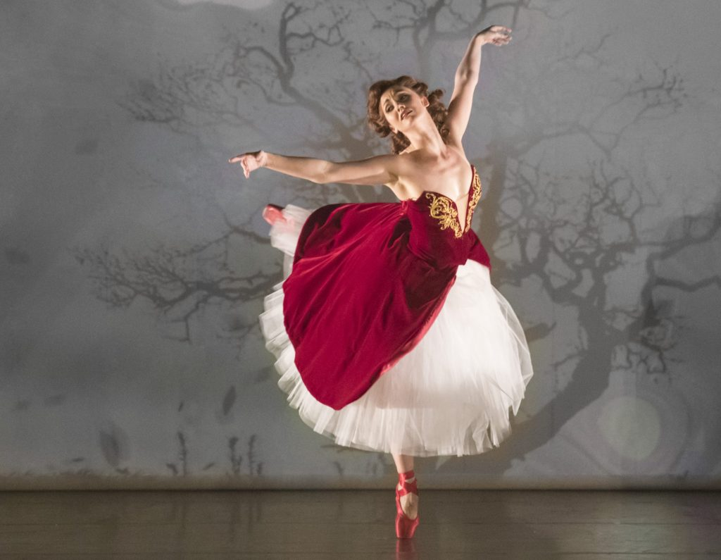 Ashley Shaw as Victoria Page in Matthew Bourne's The Red Shoes. Photo by Johan Persson.