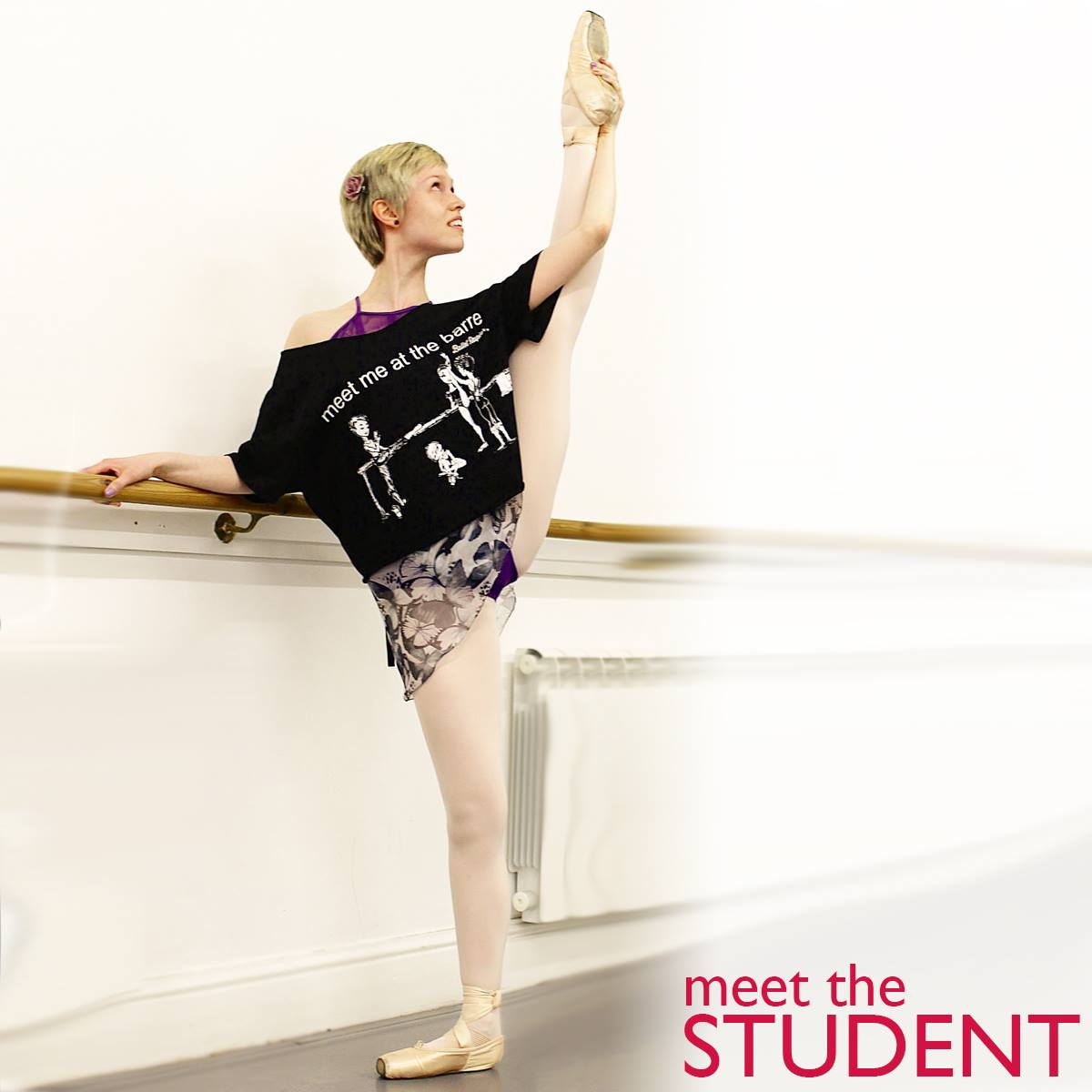 Georgina Butler. Meet the Student. Royal Academy of Dance social media campaign. BA (Hons) Dance Education.