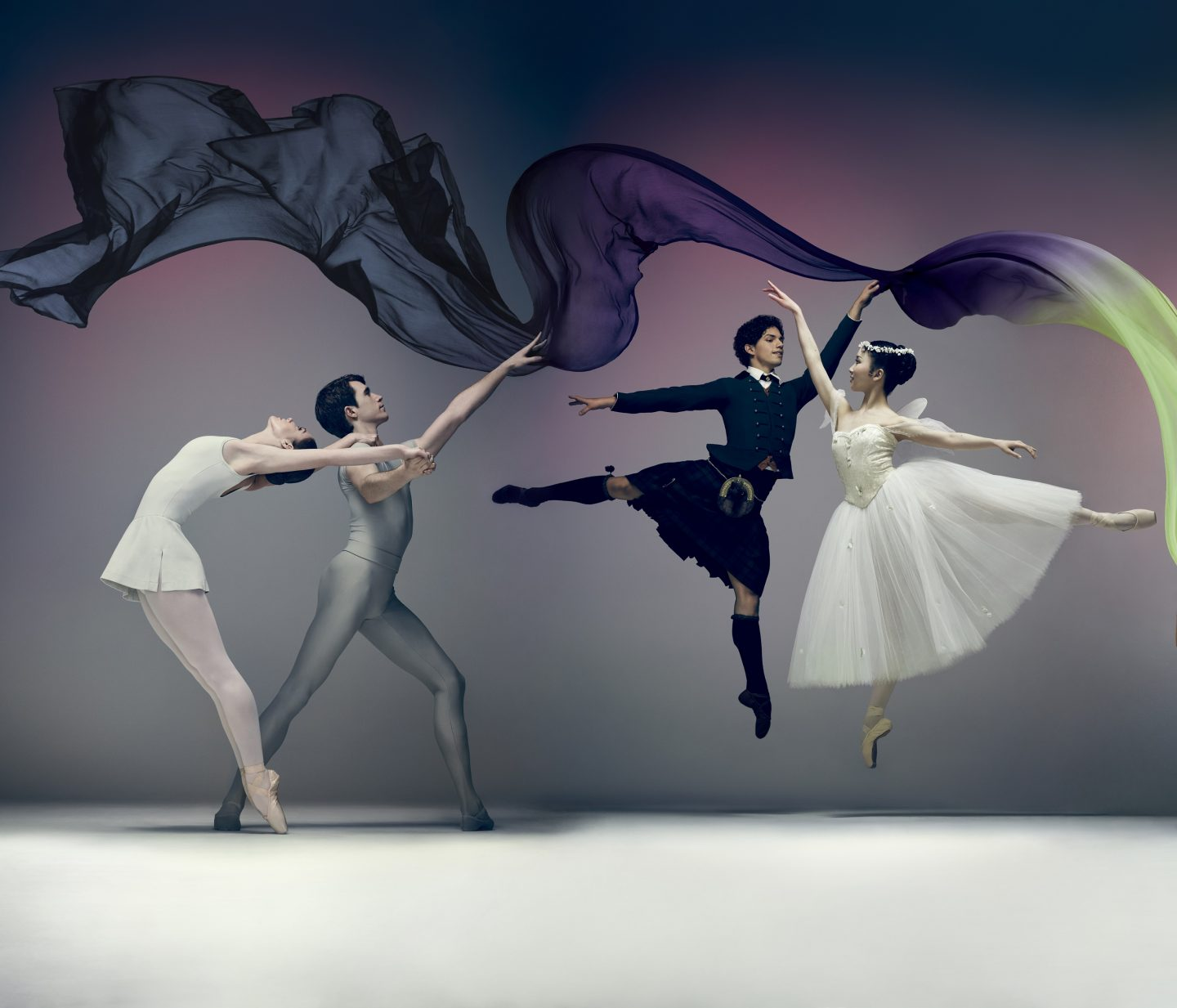 English National Ballet to present a new double bill, Song of the Earth and La Sylphide.