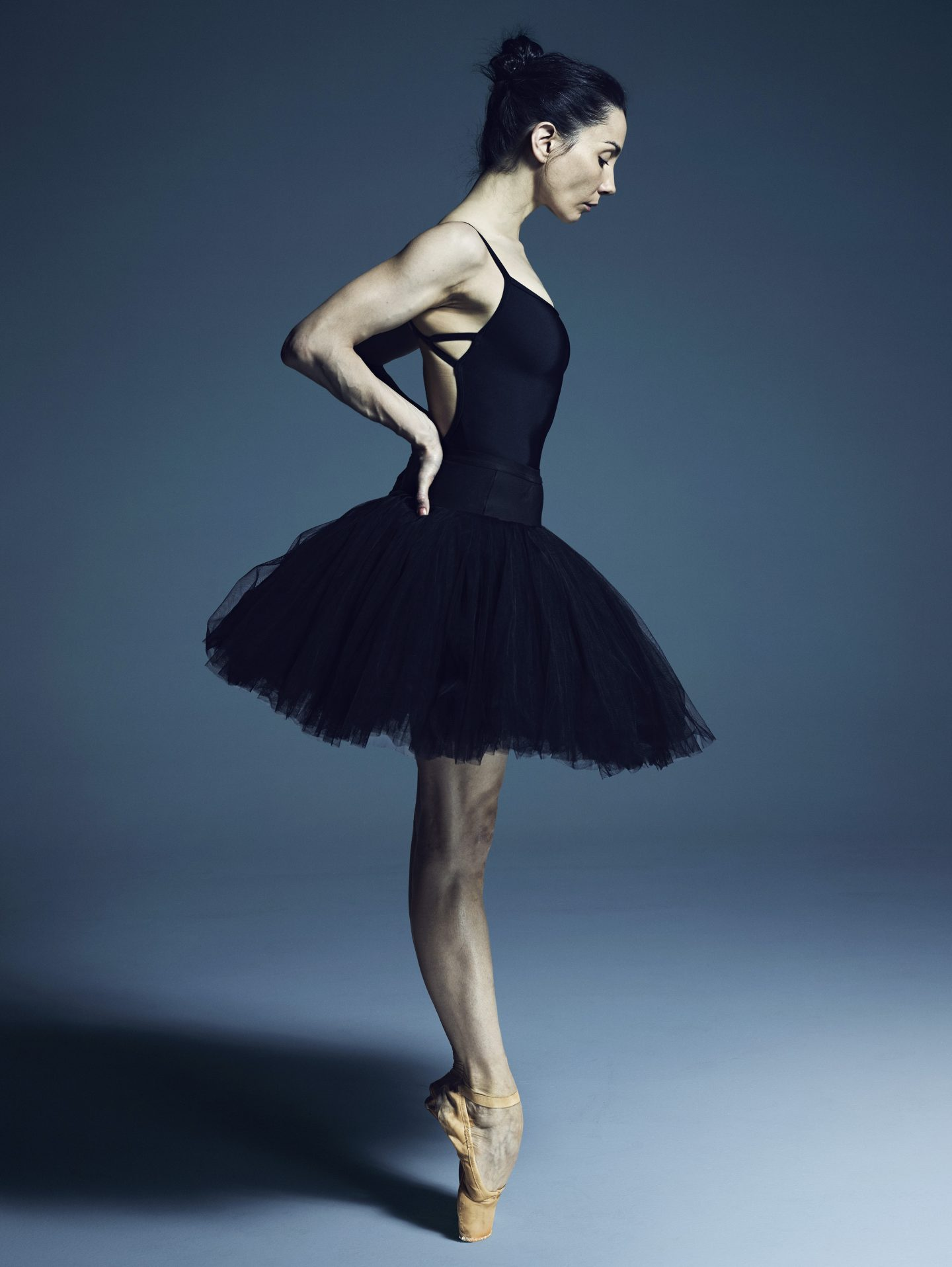 Tamara Rojo, Artistic Director and Lead Principal Dancer of English National Ballet. Portrait by Rick Guest.