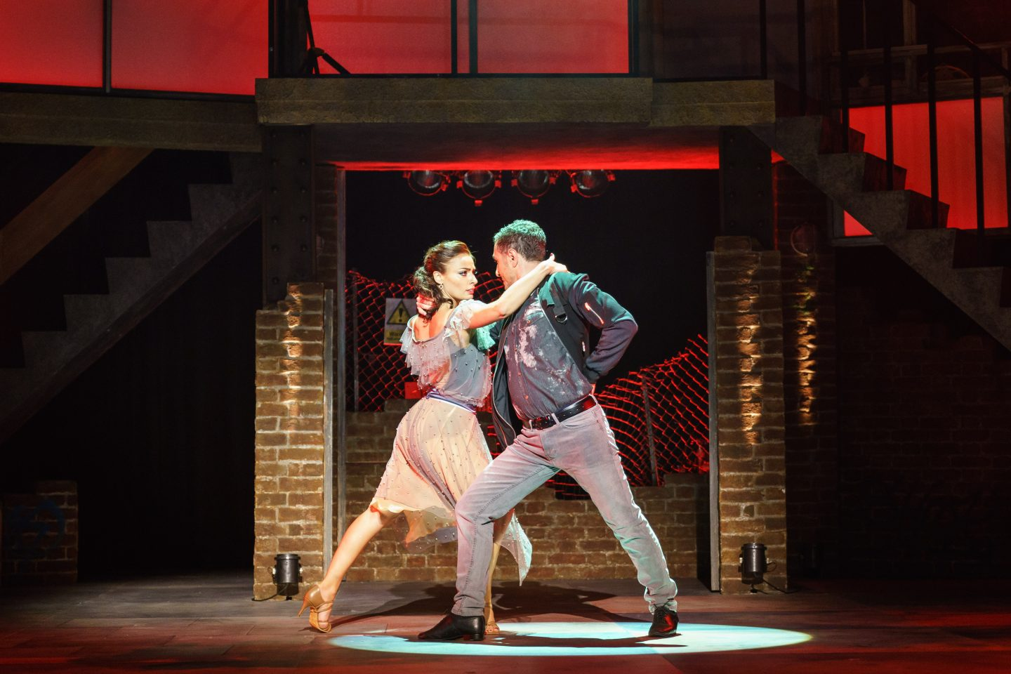 Vincent Simone and Flavia Cacace in Tango Moderno.