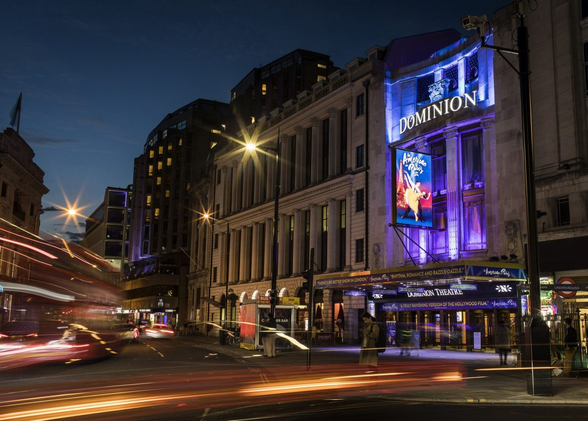 An American In Paris at the Dominion Theatre, London.