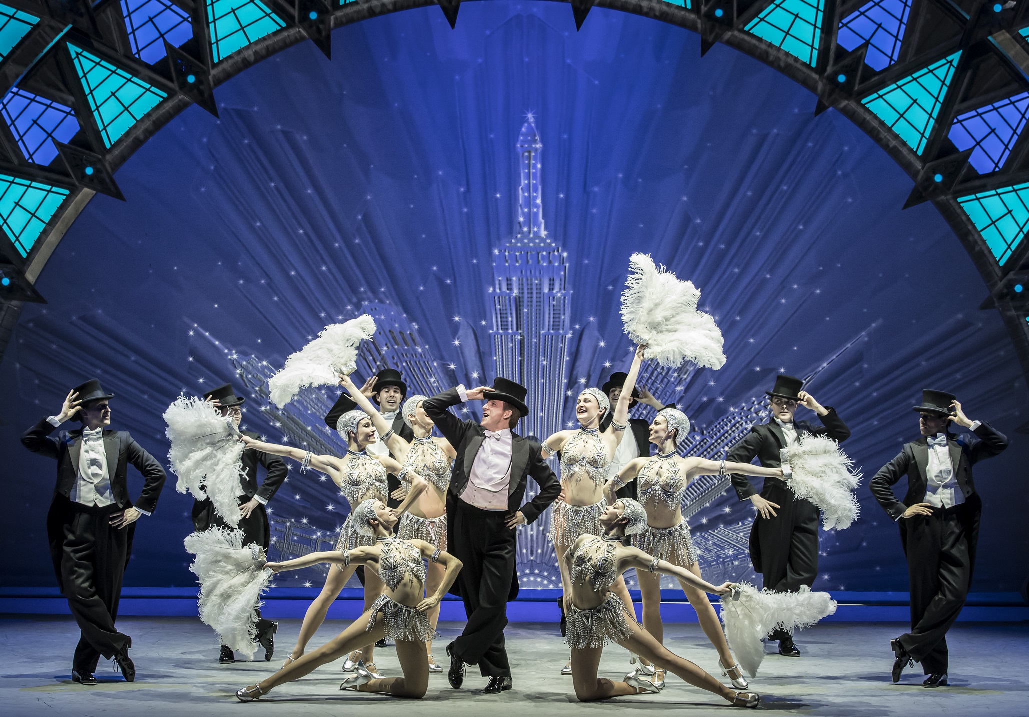 An American in Paris - Christoper Wheeldon's An American in Paris at the Dominion Theatre, London.