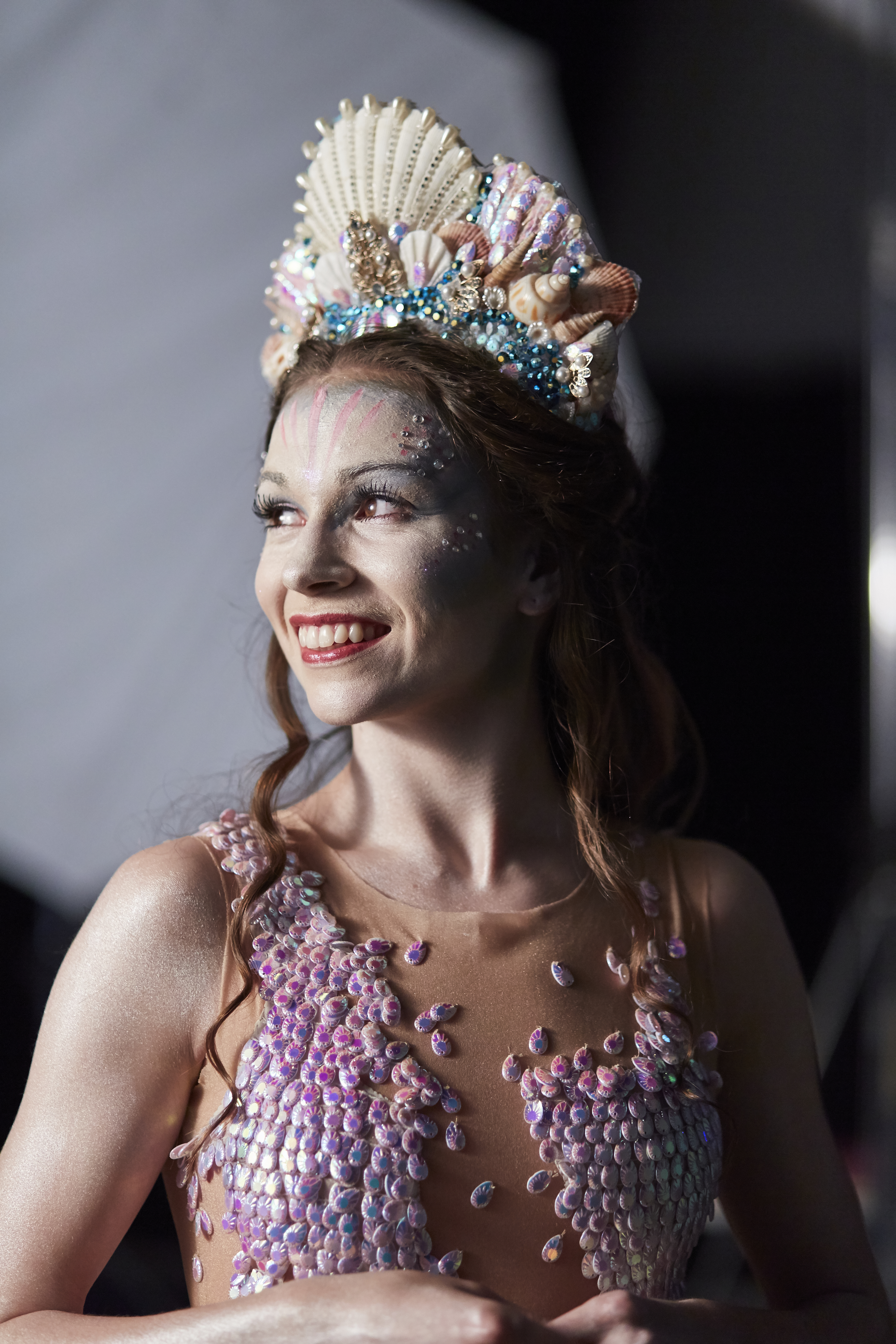 Northern Ballet dancer Abigail Prudames as the title character in The Little Mermaid.