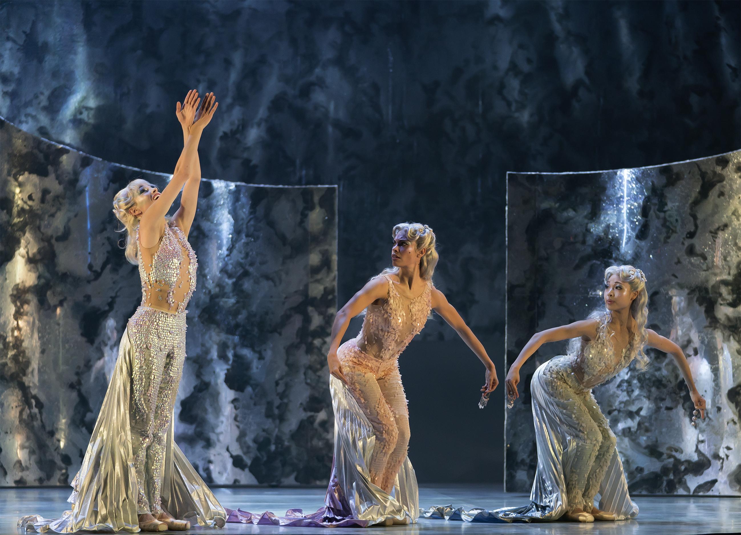 Northern Ballet dancer Abigail Prudames in The Little Mermaid.