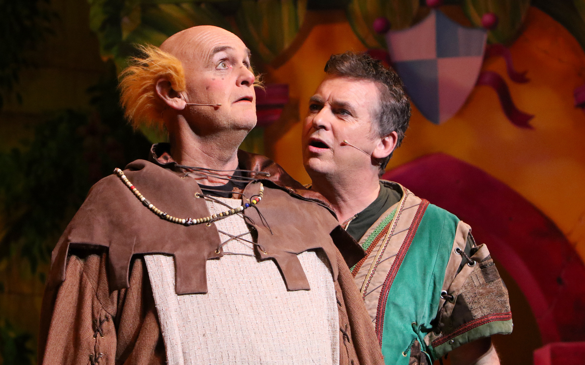 Robin Hood pantomime at Milton Keynes Theatre, Christmas 2018