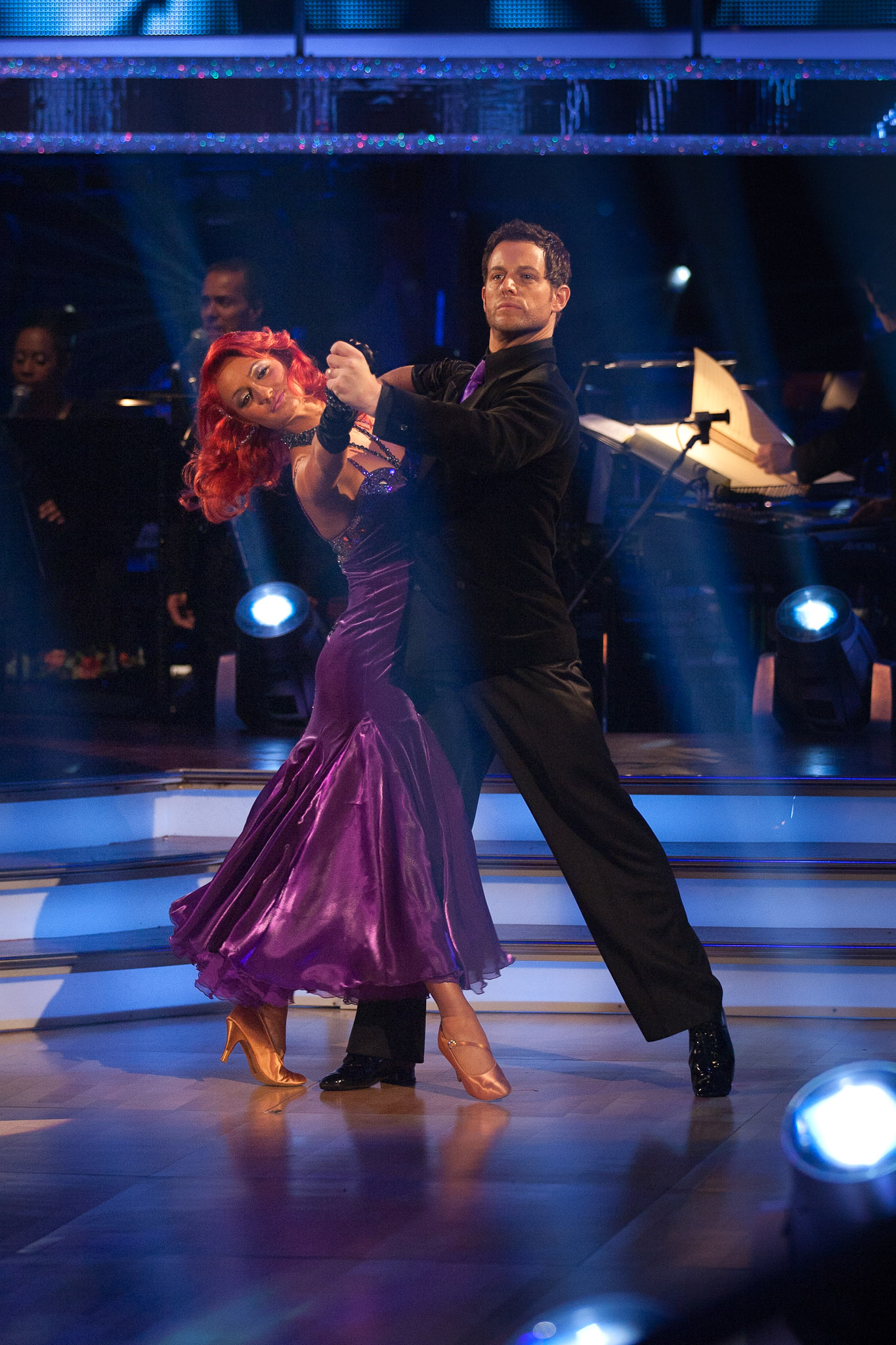 BBC Strictly Come Dancing 2010 contestant Matt Baker and his professional partner, dancer Aliona Vilani. Production picture courtesy of the BBC.