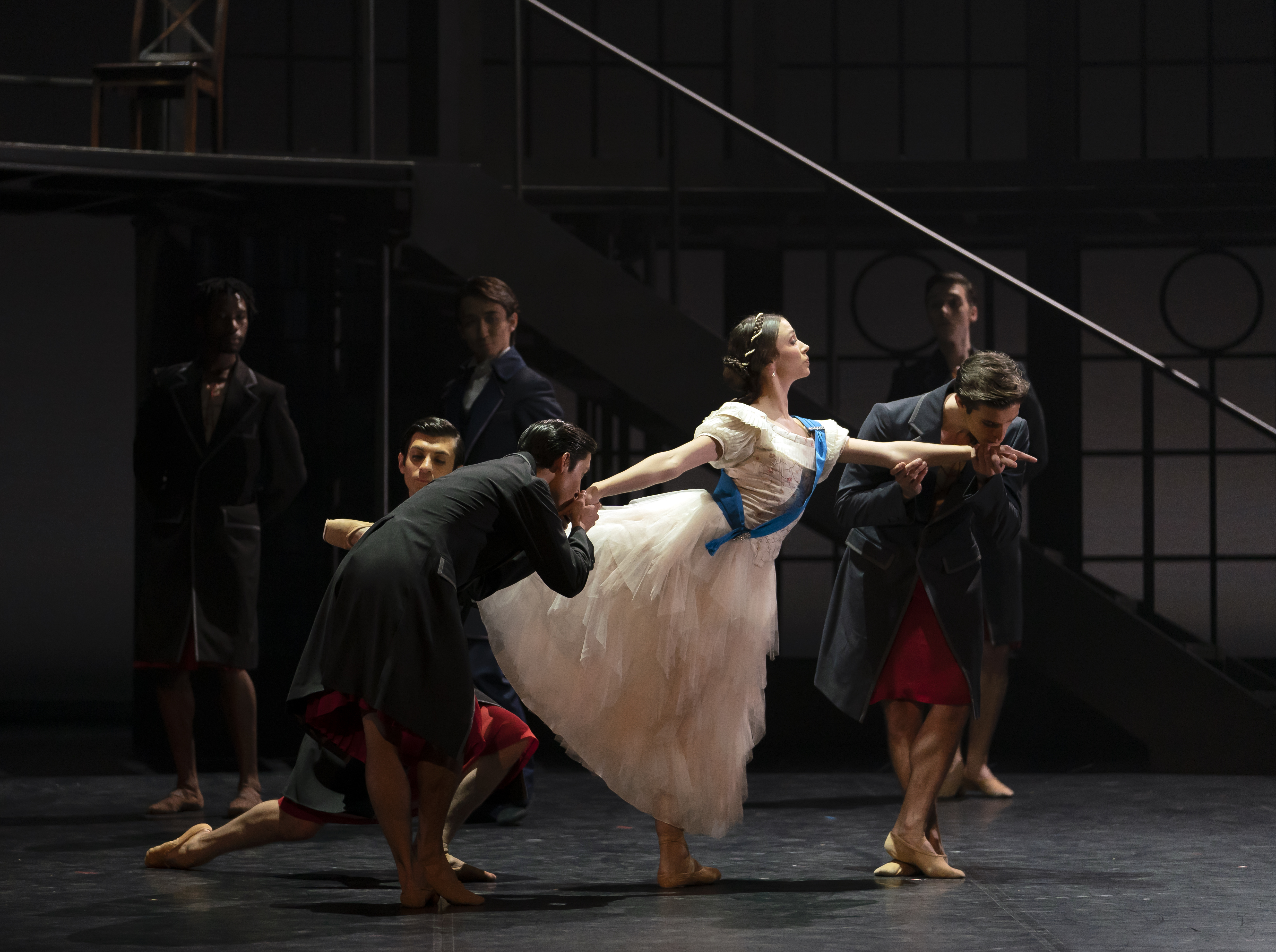 Northern Ballet's Victoria. Abigail Prudames as Victoria.