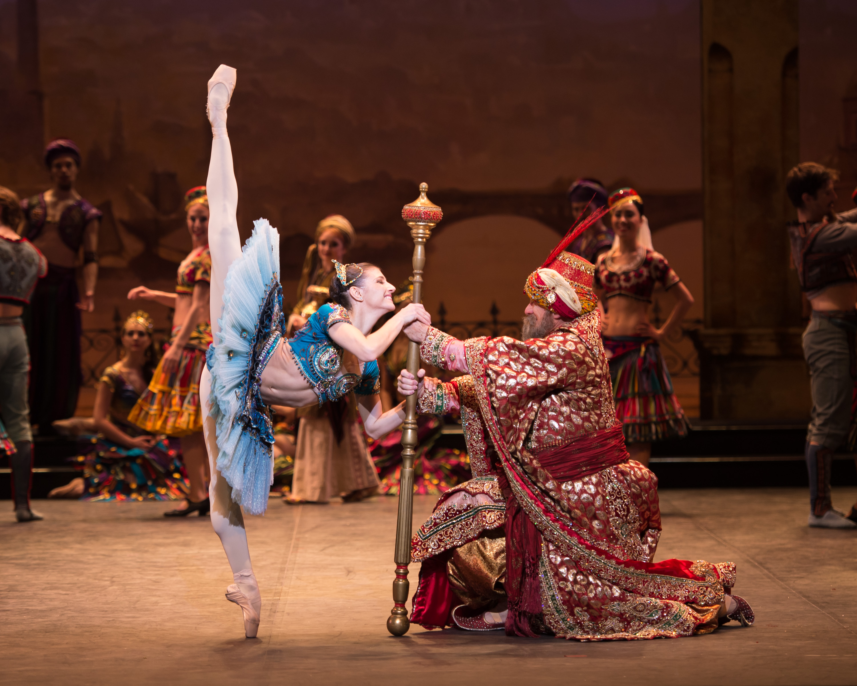Alina Cojocaru dancing in English National Ballet's 'Le Corsaire'
