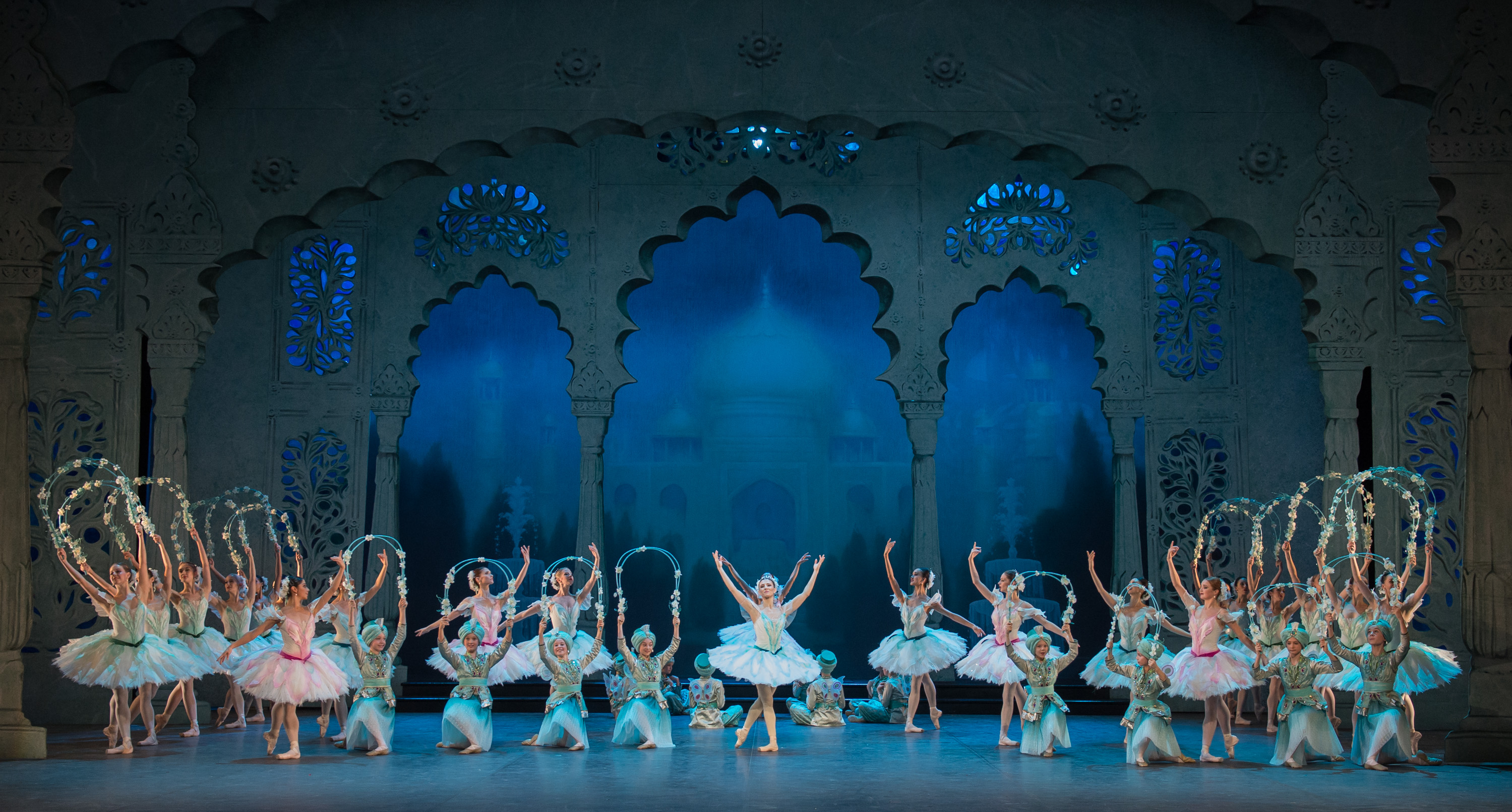 English National Ballet in 'Le Corsaire'.
