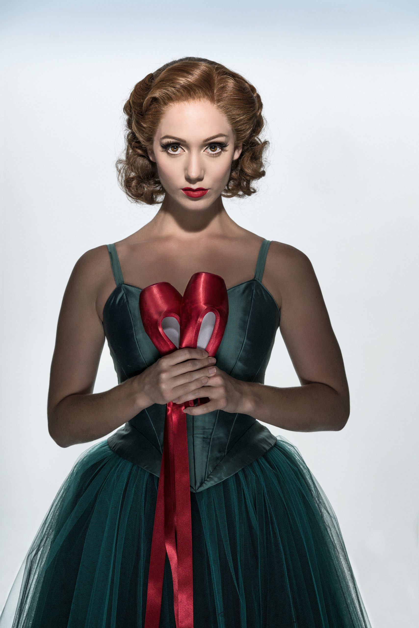 Matthew Bourne's production of The Red Shoes. Ashley Shaw as Victoria Page.