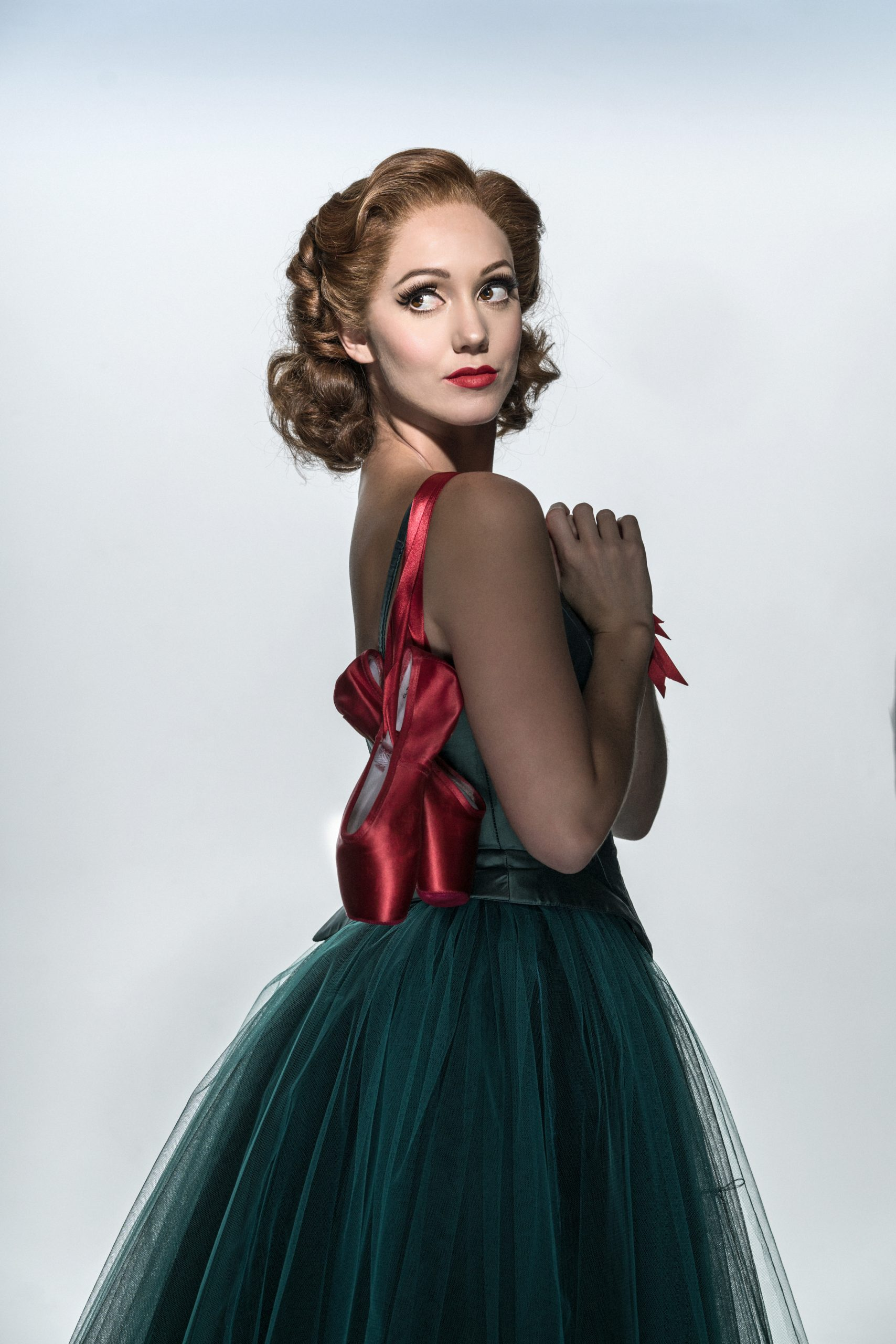 The Red Shoes. Matthew Bourne's production of The Red Shoes. Ashley Shaw as Victoria Page.